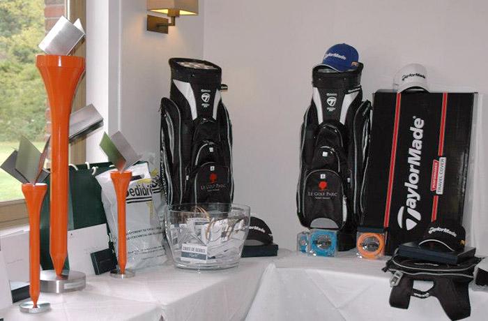 Les dotations de la compétition de Golf