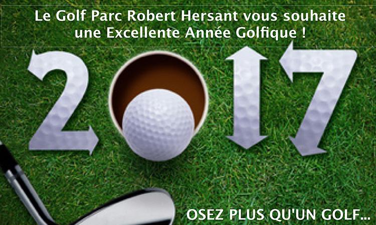 Voeux nouvelle année du Golf Parc Robert Hersant