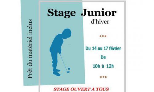 stage-golf-junior-sport-enfant-vacances-hivers-miniature
