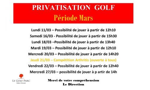 PRIVATISATION Mars