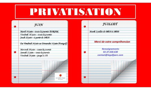 privatisation juin et juillet 2019