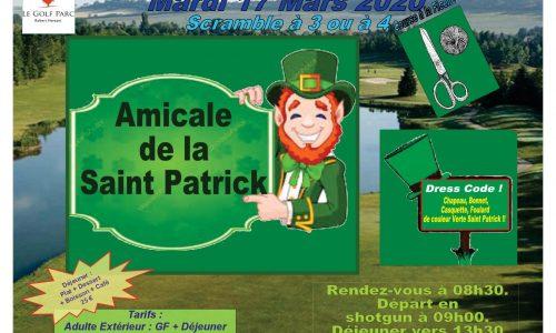 Info Amicale de la Saint Patrick 2020