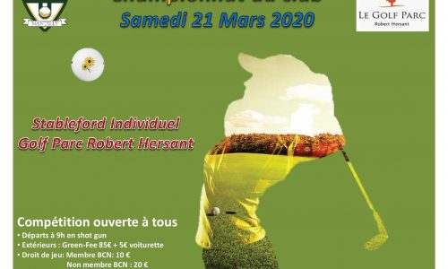 championnat du club 21-03-20