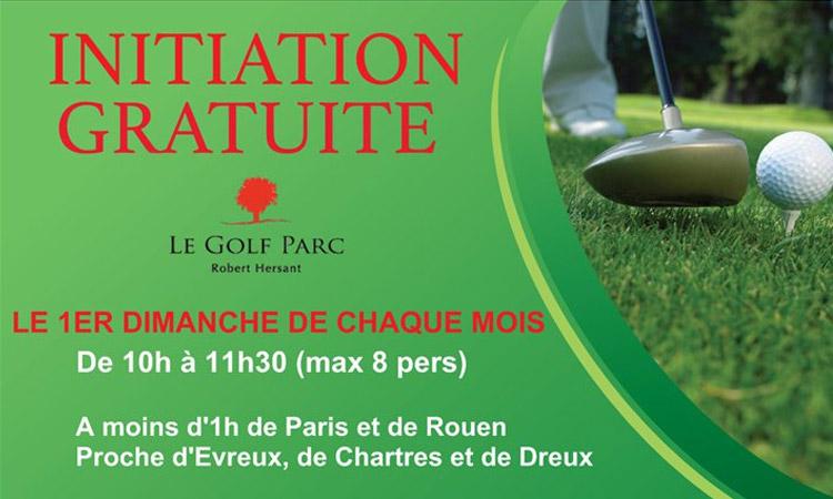 Actualité - Initiation gratuite - Golf Parc Robert Hersant