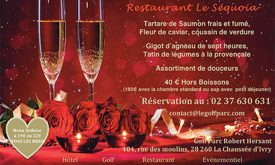 Diner Romantique au Restaurant le Séquoia pour le 14 février miniature